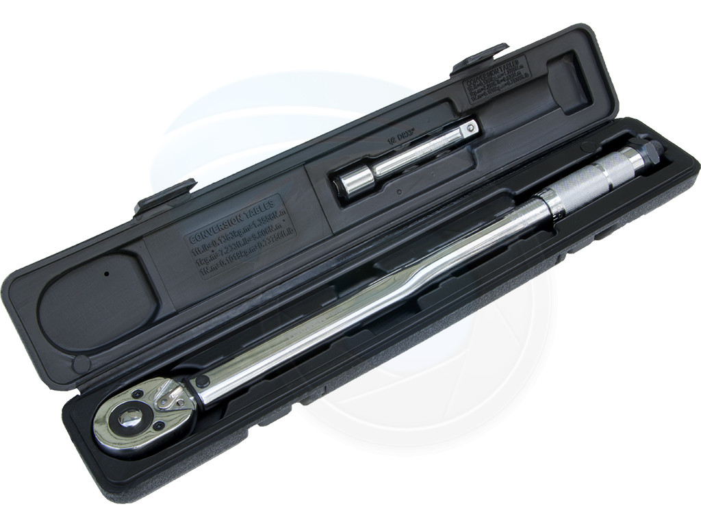 1 2 Inch Drive Adjustable Torque Wrench 28 210n M 125mm