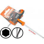 3mm T-Handle Hexagone Torque 6Point Hex Key CRV TPR Screwdriver Wrench