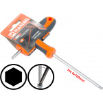 4mm T-Handle Hexagone Torque 6Point Hex Key CRV TPR Screwdriver Wrench
