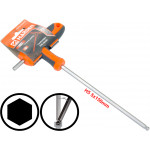 5mm T-Handle Hexagon Torque 6Point Hex Key CRV TPR Screwdriver Wrench