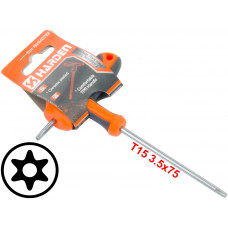 T15 T-Handle Torx Security Pin 6 Point Star Key CRV Screwdriver Wrench