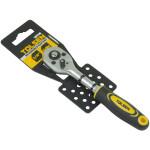 Tolsen Quick Release Reversible Socket Ratchet Wrench 1/4 Square Drive